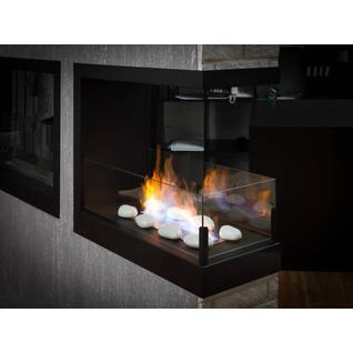 LUX FIRE Встроенный биокамин Lux Fire Торцевой 755
