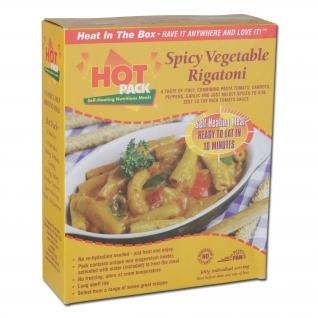 Паек Hot Pack пикантное ригатони с овощами 480 г