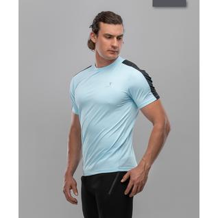 Мужская спортивная футболка Fifty Intense Pro Fa-mt-0102, голубой размер L
