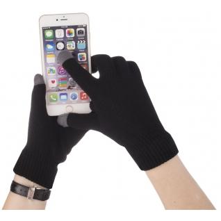 Перчатки Айфон для сенсорных экранов, цвет темно-серый