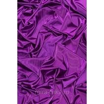 Атлас стрейч, ткань блузочно-плательная, заказ от 25 метров, цвет: фиолет