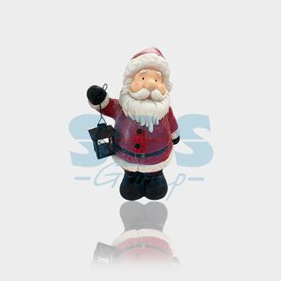 Neon-Night Керамическая фигурка «Дед Мороз с фонарем» 29х21х46.5 см