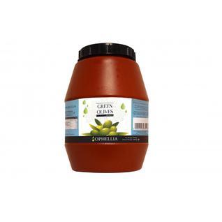 OPHELLIA Зеленые оливки (Момонт) OPHELLIA 3000 гр.