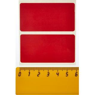 Термоэтикетки ЭКО 58x30, красная 700шт/рул. 60 рул.в кор