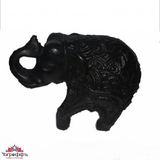 Статуя слон. 6 см. Керамика
