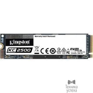 Kingston Накопитель SSD Kingston PCI-E NVMe M.2 1000Gb SKC2500M8/1000G KC2500 2280 (SKC2500M8/1000G)