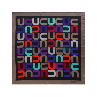 Платок шелковый Ungaro модель «Monogramma»