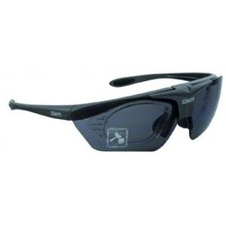 Очки солнцезащитные с диоптриями Mighty со смен.линзами, черные