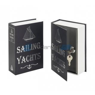 """Книга-сейф """"Парусные яхты"""""""