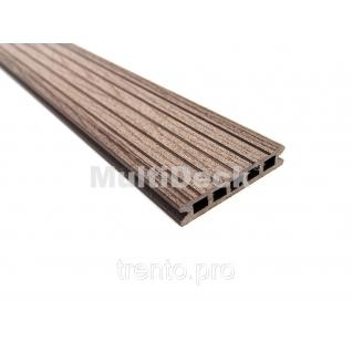 Террасная доска MultiDeck Pro Шоколад 3000*150*27 мм Multiplast