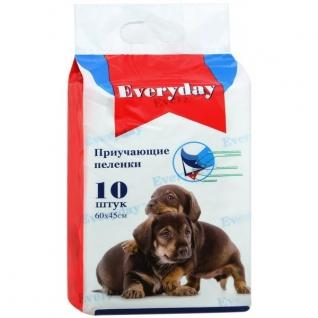 Everyday EVERYDAY впитывающие пеленки для животных ГЕЛЕВЫЕ 60 х 45 см, 10 шт