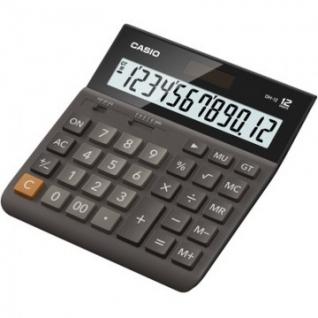 Калькулятор настольный ПОЛНОРАЗМЕРНЫЙ Casio DH-12-BK-S-EH, 12-разрядный