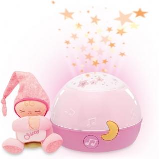 """Проектор-ночник """"Первые грезы"""", розовый (свет, звук) Chicco"""