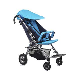 АРМЕД Кресло-коляска для детей-инвалидов и детей с заболеваниями ДЦП с принадлежностями: VCG0С SWEETY (пневмо, синий-тёмно-синий)