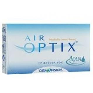 AIR OPTIX Aqua. Оптич.сила - 7,0. Радиус 8,6