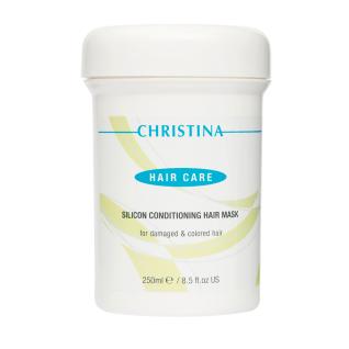 Christina SILICON CONDITION HAIR MASK FOR DAMAGED & COLORED HAIR - Силиконовая маска для ухода за поврежденными и окрашенными волосами