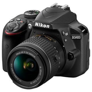Зеркальный фотоаппарат Nikon D3400 Kit 18-55 AF-P 18-55