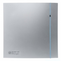 Вентилятор Soler & Palau Silent-200 CRZ Silver Design-3C