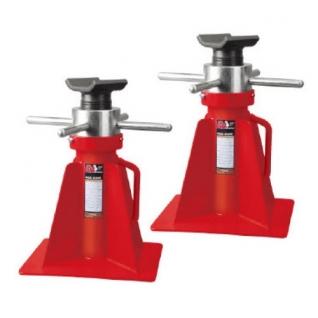 Подставка под а/м механическая винтовая 20т (h min 420мм, h max 680мм) Big Red