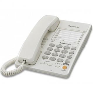 Телефон Panasonic KX-TS2363RUW белый,память 30 ном.