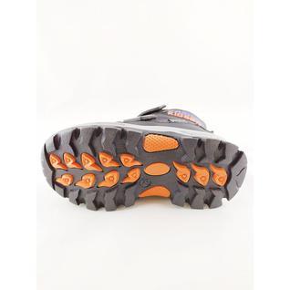 77198-С ботинки черный ораньжевый Фаворит 27-32 (30)