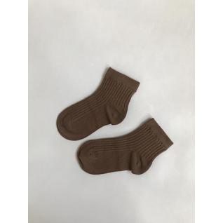 ku145 носки детские темно коричневый Kuppinoski (12-18) (16)