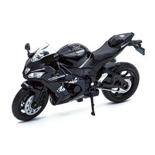Игрушечные машинки и техника Welly Welly 12845P Велли модель мотоцикла Kawasaki Ninja ZX-10RR