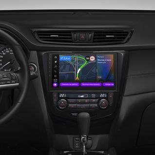 Бортовой компьютер Яндекс.Авто для Nissan Qashqai/Nissan X-Trail (с 2013 года) (+ Камера заднего вида в подарок!)