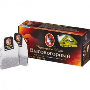 Чай Принцесса НУРИ черный Высокогорный 2гx25пак