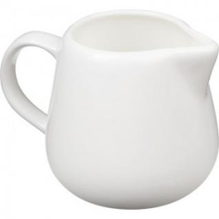 Молочник белый фарфор 200мл (WL-995005)