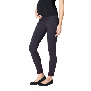 Джинсы женские Tania Coloured weft Maternity jegging-charcoal