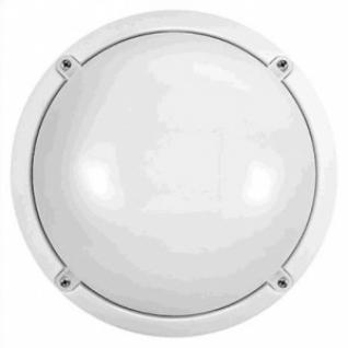 Светильник ДПП-12Вт светодиодный накладной 218Шх218Вх88Г Онлайт IP65, 4000К, 870Лм, круглый, белый