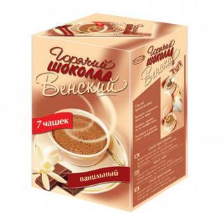 Горячий шоколад ВЕНСКИЙ ванильный (7 пак х 20гр)