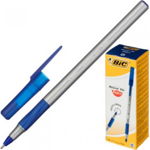 Ручка шариковая Bic Раунд Стик Экзакт синяя, 918543 0,35 мм 37874183 1