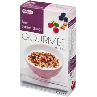 Завтрак Мюсли Gourmet Bruggen лес. ягоды 375г