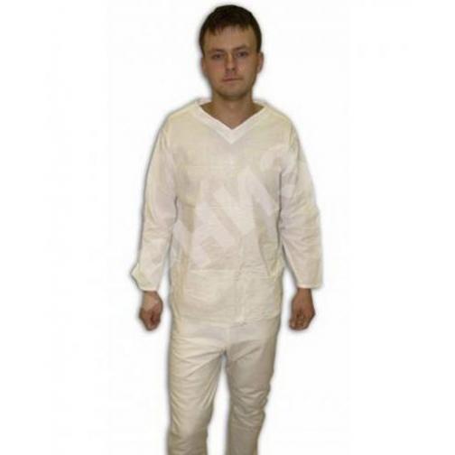 Белье нательное солдатское зимнее белого цвета 10900
