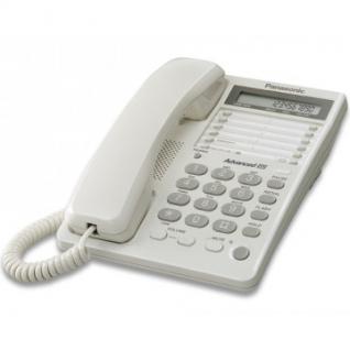 Телефон Panasonic KX-TS2362RUW белый,память 30 ном.,ЖК дисплей