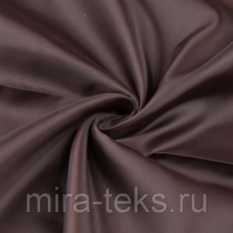 Подкладочная ткань 395 190Т 100%п/э, шир. 150 см, цвет: горький шоколад