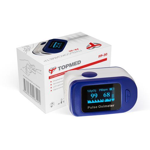 Пульсоксиметр Медицинский TOPMED 42543941 2