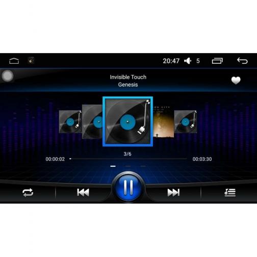 Штатная автомагнитола для Geely Emgrand X7 2011-2017 LeTrun 1891 Android 5.1 Intel SoFIA 36992806 2