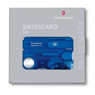 Швейцарская карта Victorinox SwissCard 0.7322.T2, 13 функций