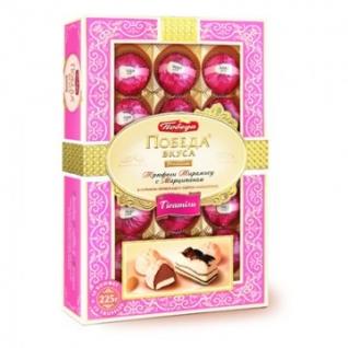 Набор конфет Победа трюфели тирамису с сыром маскарпоне 225 г