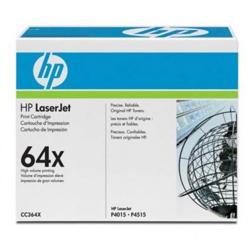 Картридж CC364X №64X для HP LJ P4014, 4015, 4516 (черный, 24000 стр.) 723-01 Hewlett-Packard 852596 1
