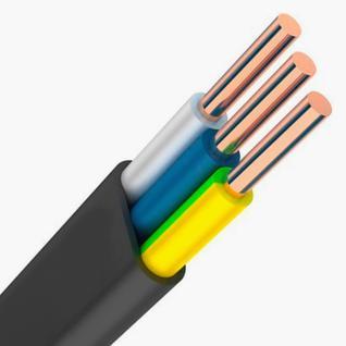 Силовой кабель ВВГнг(А)-LS 3х2.5 ТУ 0.66 Россия