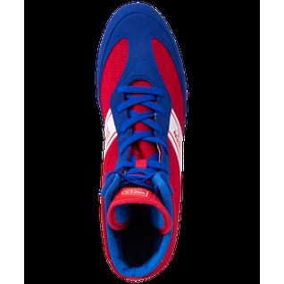 Обувь для бокса Green Hill Special Lsb-1801, высокая, синий/красный размер 38