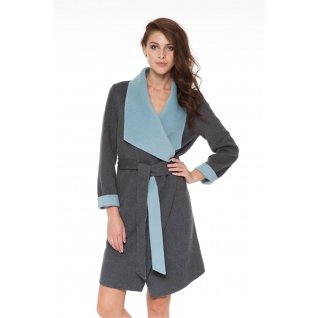 Пальто ODRI 16110507 Пальто ODRI DOROTHEA GRAY MELANGE / MENTHOL