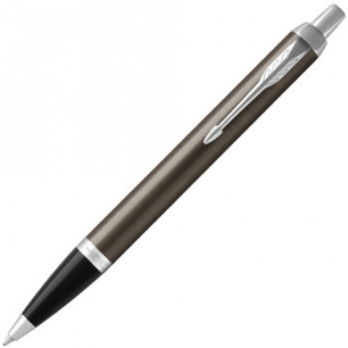 Ручка шариковая PARKER IM Metal Core Dark Espresso CT синий 1931671 Китай