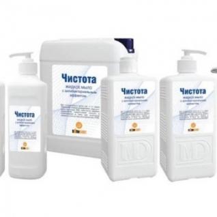Дезинфицирующее мыло Чистота 5,0 л
