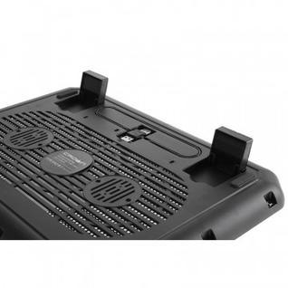 Подставка для ноутбука Crown, охлажд, до 15.6 дюйм, 1 вент, черн,CMLC-M10