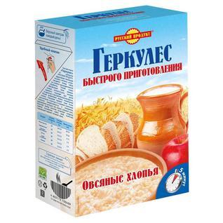 Каша Геркулес Русский Продукт быстрого приготовления, 420г